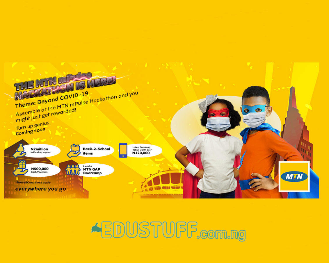 MTN mPulse Hackathon 2020 | primary and secondary School Students Win 1m Fund Support | for Young Nigerian Students