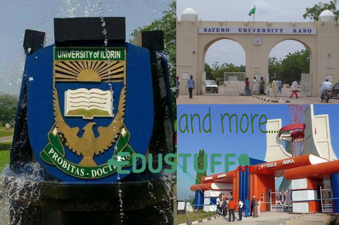 Universities That Have Announced Resumption Date