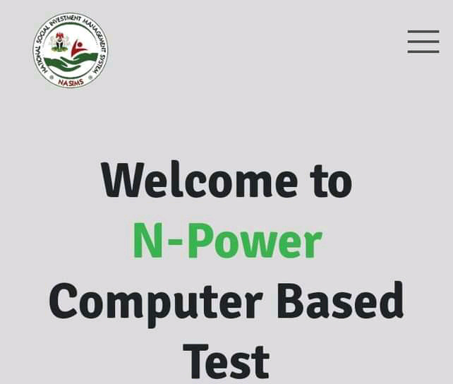Npower Test Result 2021 Batch C NASIMS Portal | How To Check