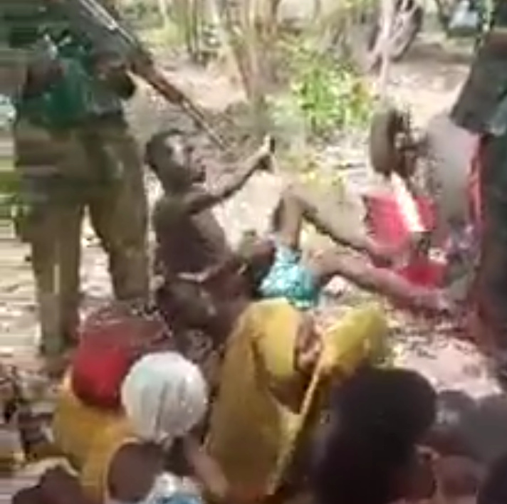 Video: Kaduna Students Abducted By Bandits Got Whipped as Bandits Release Video