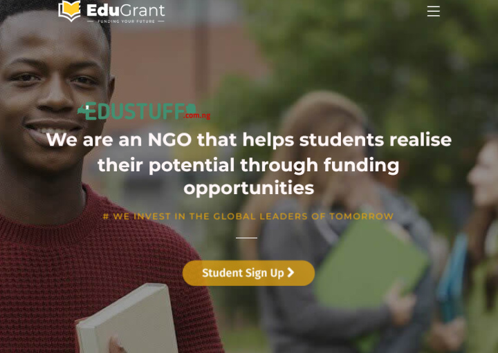 EduGrant Scholarship of Excellence 2021 Application Form