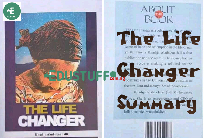 The Life Changer Novel Summary All Chapters PDF | JAMB 2021