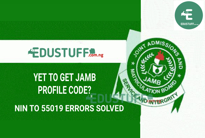 Yet To Receive JAMB Profile Code? JAMB Profile Code Issues Solution