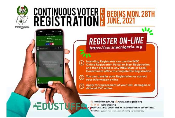 INEC Voters Card Registraton