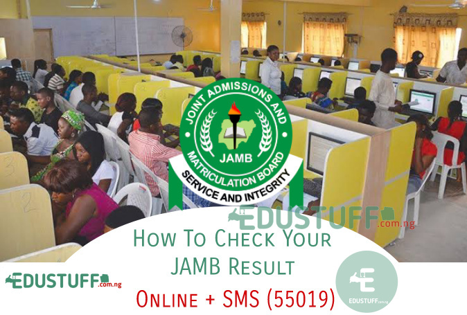 How to check JAMB results 2021