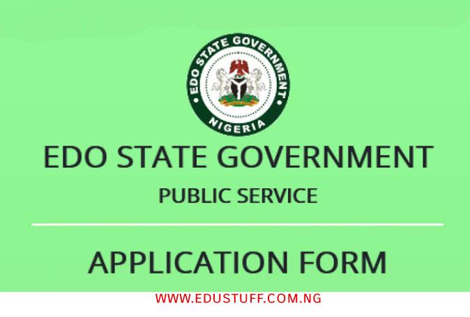 Edo State Internal Revenue Service Recruitment 2021 EIRS Form   Apply Now