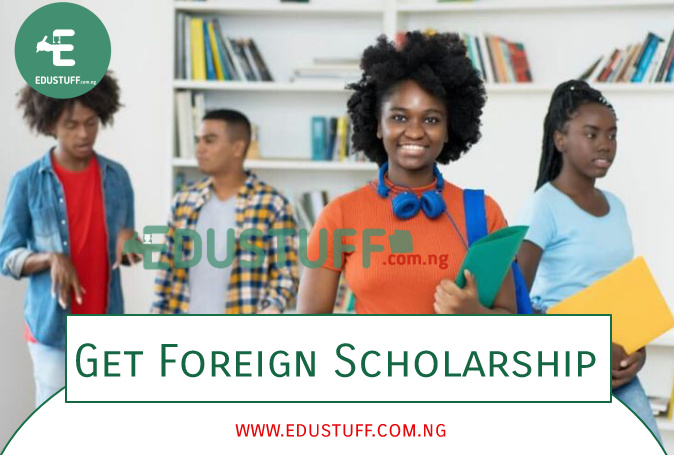 International scholarships for Nigerian students 2021
